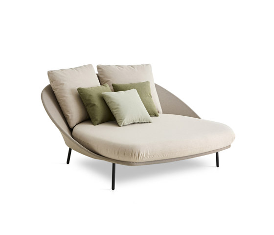 Twins Double chaise longue by Expormim | Chaise longues