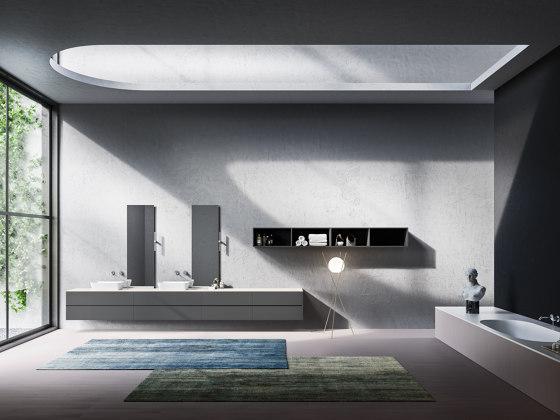 Bathroom project | L'Essenziale Roma by Itlas | Vanity units