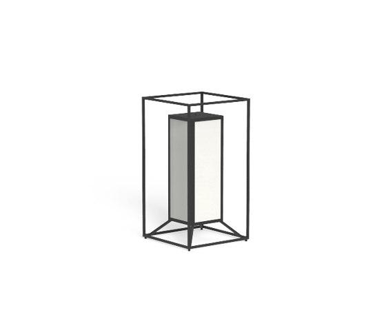 Cleo Teak   Lantern by Talenti   Outdoor recessed floor lights