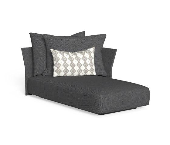 Cliff   Sofa lounge sx backrest fabric de Talenti   Sièges modulables