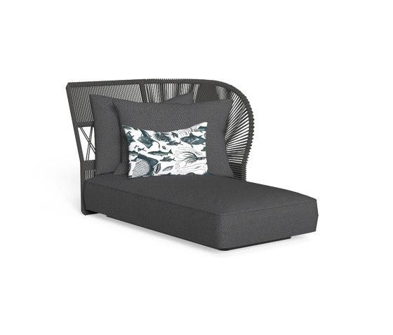 Cliff Dèco | Sofa lounge sx backrest rope de Talenti | Sièges modulables