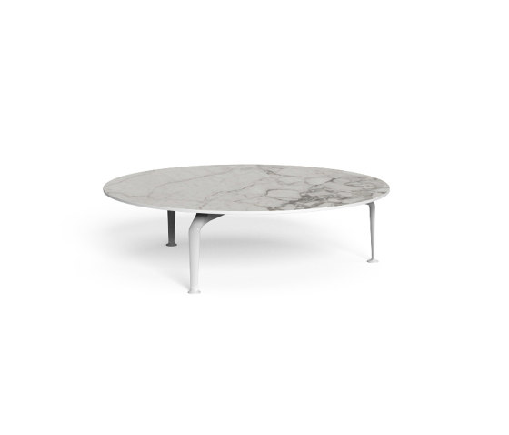 Cruise Alu | Round coffee table D 120 de Talenti | Tables basses