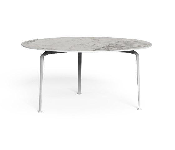 Cruise Alu | Round dining table D 150 de Talenti | Tables de repas
