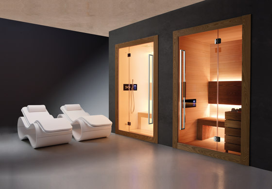 Dream Sauna Small by Carmenta | The Wellness Industry | Saunas