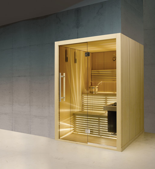 Sensation Sauna Small by Carmenta | The Wellness Industry | Saunas