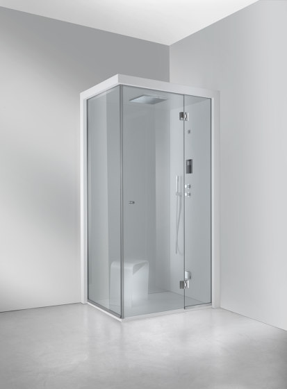 Matrix Steam Shower by Carmenta | The Wellness Industry | Steam showers