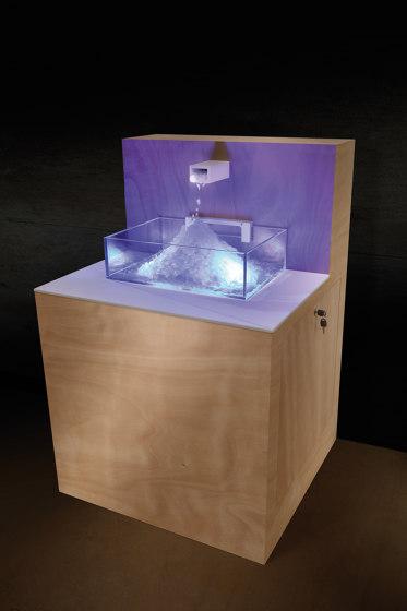 Ice Fountain | Raw Ice by Carmenta | The Wellness Industry | Spa