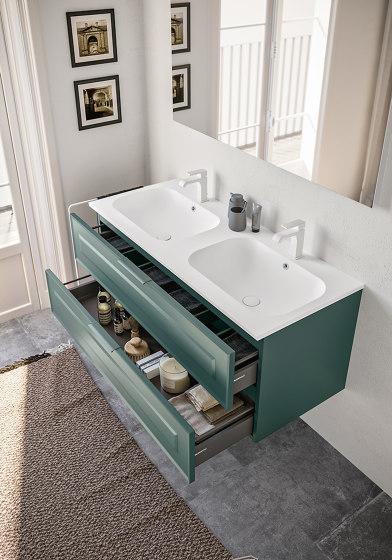 Ceramic washbasin Duna by Berloni Bagno | Wash basins