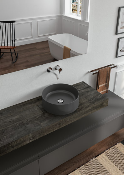 Ceramic Washbasins Thin by Berloni Bagno | Wash basins