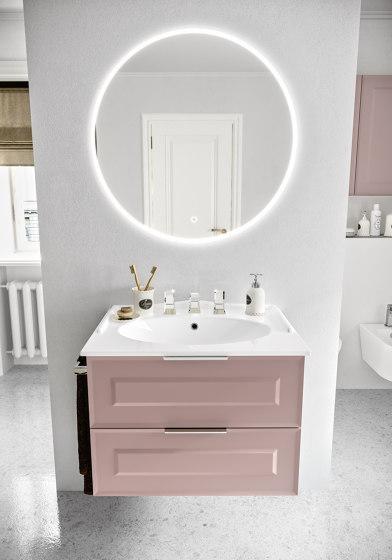 Four Seasons Round by Berloni Bagno | Bath mirrors