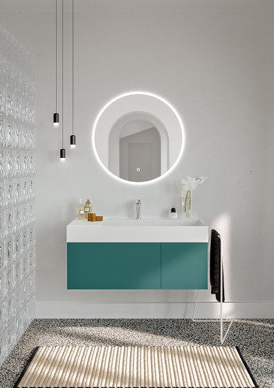 Piani | 07 Furniture collection by Berloni Bagno | Vanity units