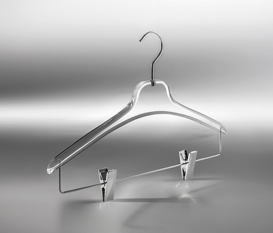 Aurora Collection | Camicia Plexiglass Hanger by Industrie Toscanini | Coat hangers