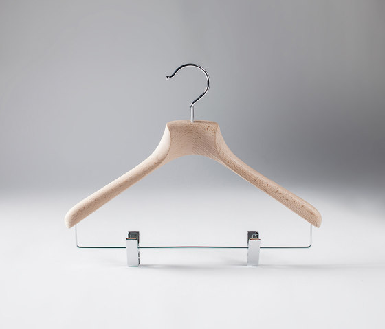 Su Misura Collection | Marcello Casual Hanger by Industrie Toscanini | Coat hangers