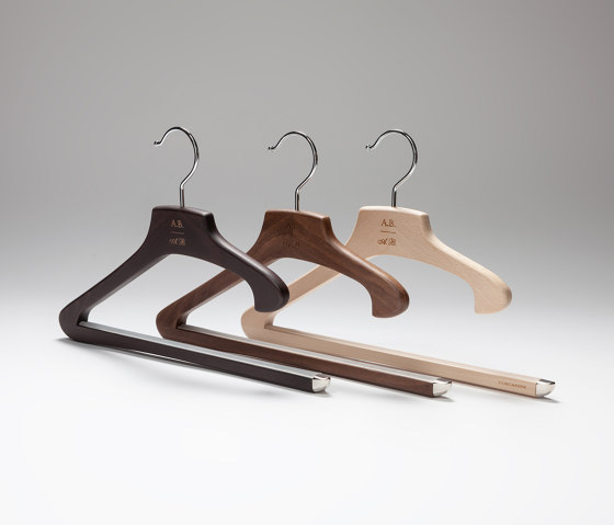 Su Misura Collection | Marcello Pantaloni Hanger by Industrie Toscanini | Coat hangers