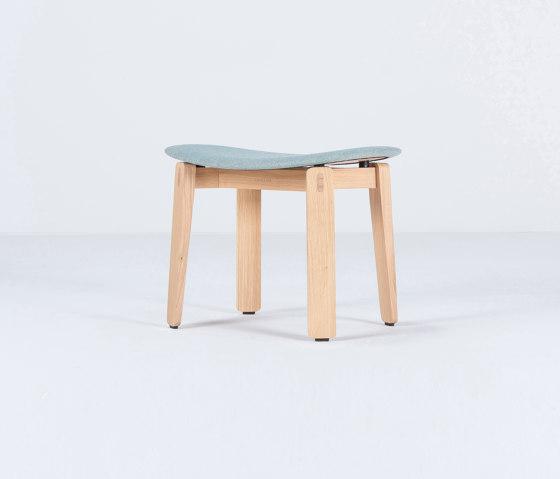 Nora stool by Gazzda | Poufs