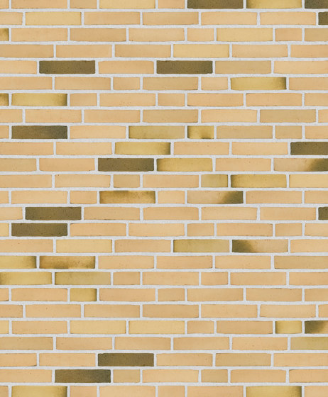 Classica | RT 412 Yellow/green Malakit by Randers Tegl | Ceramic bricks