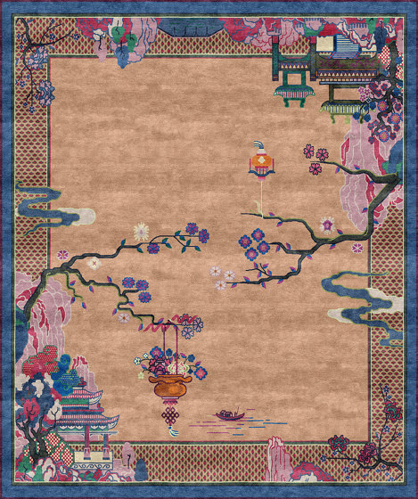 Chinoiserie | Riverhouse Spring Garden by Tapis Rouge | Rugs
