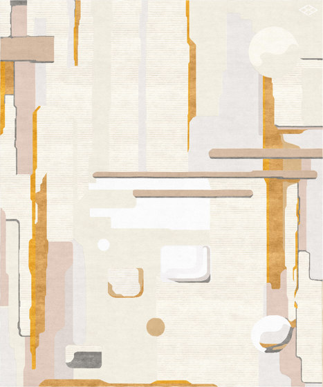 Abstraction | Composition V by Tapis Rouge | Rugs