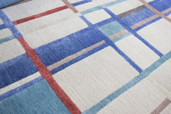 Abstraction | Composition VI by Tapis Rouge | Rugs