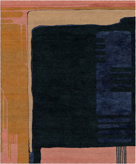 Abstraction | Composition XIII.I by Tapis Rouge | Rugs