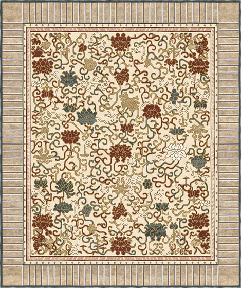 Chinoiserie | Lindgering Garden Beige by Tapis Rouge | Rugs