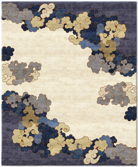 Chinoiserie | Monsoon Season Gold by Tapis Rouge | Rugs