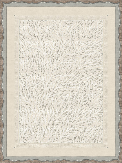 Dentelle | Claudine Gris by Tapis Rouge | Rugs