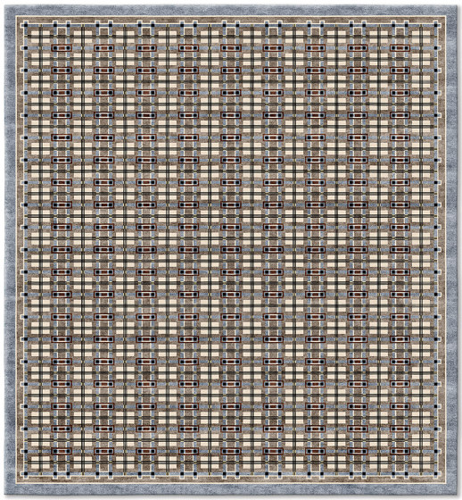 Archive | Leleu Chivarly Grey by Tapis Rouge | Rugs