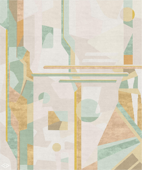 Abstraction | Composition IV by Tapis Rouge | Rugs