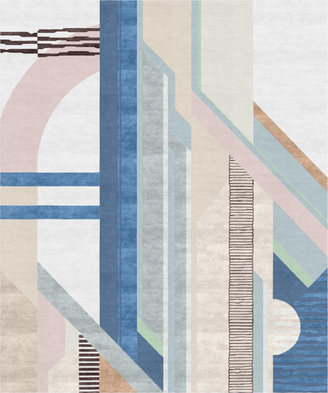 Abstraction   Composition VIII by Tapis Rouge   Rugs