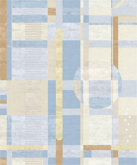 Abstraction   Composition IX by Tapis Rouge   Rugs