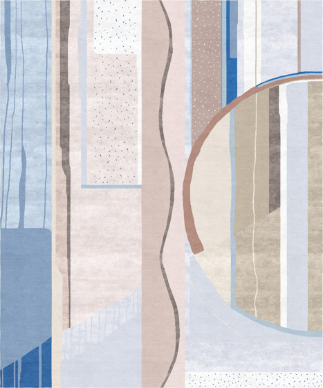 Abstraction | Composition XI.I by Tapis Rouge | Rugs