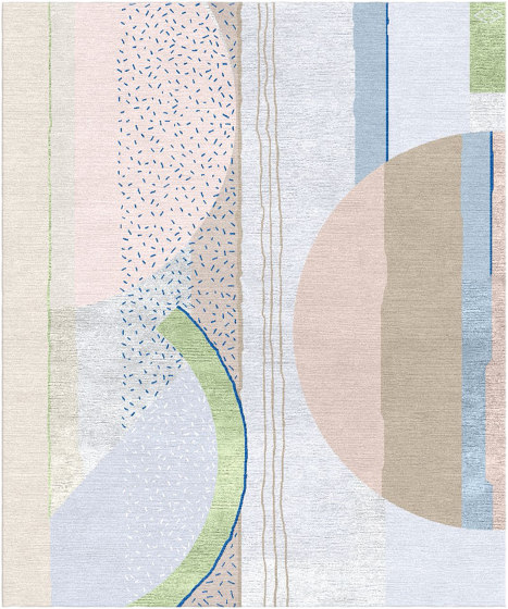 Abstraction | Composition XI.II by Tapis Rouge | Rugs