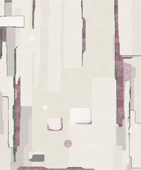 Abstraction   Composition V.II by Tapis Rouge   Rugs