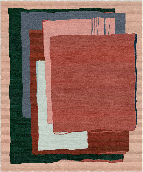 Abstraction | Composition XII.I by Tapis Rouge | Rugs