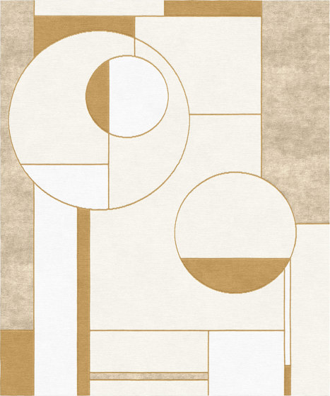 Abstraction   Composition XIV.I by Tapis Rouge   Rugs
