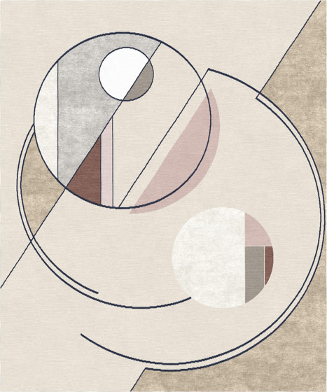 Abstraction | Composition XVI.II by Tapis Rouge | Rugs