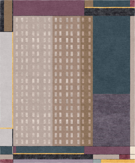 Abstraction | Composition XVII by Tapis Rouge | Rugs