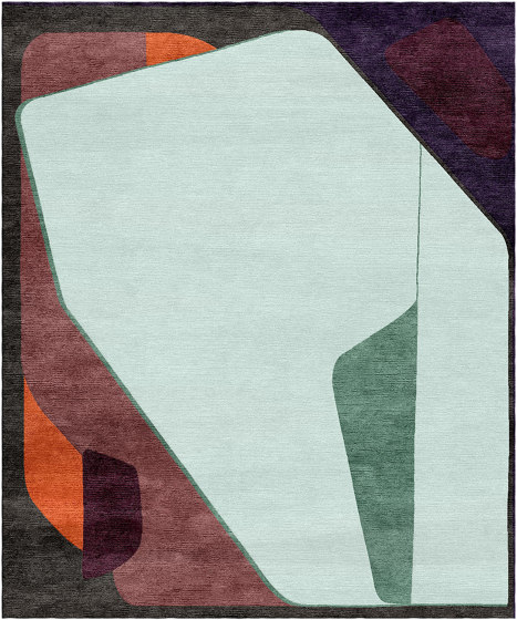 Abstraction | Composition XV.I by Tapis Rouge | Rugs