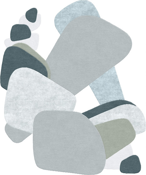 Abstraction | Composition XXI by Tapis Rouge | Rugs
