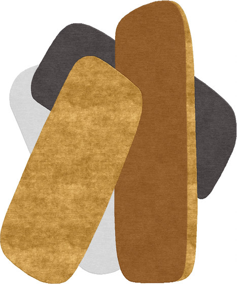 Abstraction | Composition XXII by Tapis Rouge | Rugs
