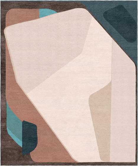 Abstraction | Composition XV.III by Tapis Rouge | Rugs