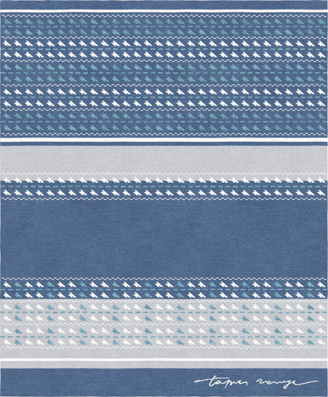 Val Camonica | Sonico Blue Notte by Tapis Rouge | Rugs