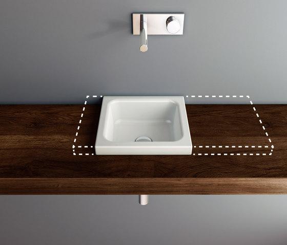 MERO MINI VARIO counter top washbasin by Schmidlin | Wash basins