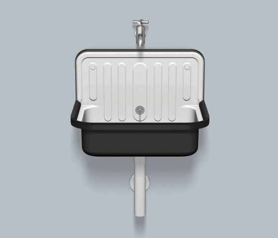 AG.STAHLFORM510U  Bicolor by Alape | Wash basins