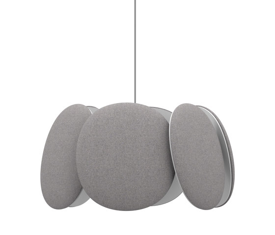 Blossom acoustic pendant lamp M by Bogaerts Label   Suspended lights