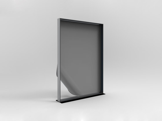DRESSWALL Health | Freestanding Vertical by Dresswall | Privacy screen