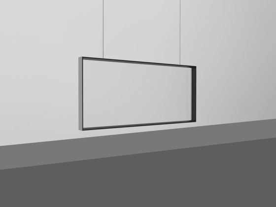 DRESSWALL Health | Suspension Horizontal by Dresswall | Suspended divider