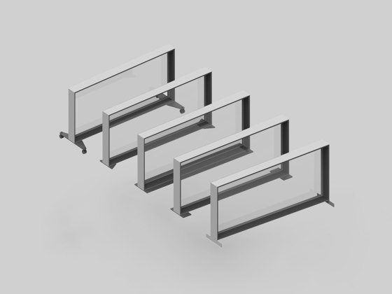 DRESSWALL Health | Table Stand Pass-throughs by Dresswall | Table dividers