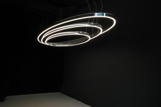 Doppio Ellipse by Sattler | Suspended lights